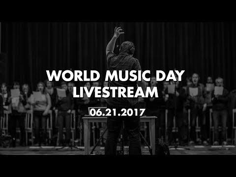 World Music Day 2017 Livestream Celebration!