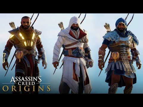 Assassin's Creed Origins – All Legendary Outfits (How to Unlock) Including Premium DLC Outfits