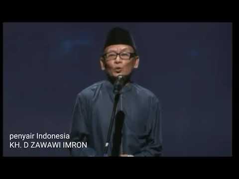 """Penyair Indonesia D ZAWAWI IMRON"""" Jujur Vs Tidak Jujur"""""""