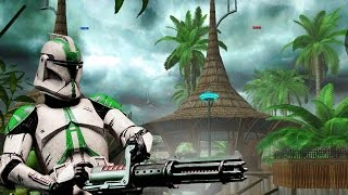 Star Wars Battlefront 2 Mods Kothlis Sea Haven - Battlefront Extreme Mod - Clone Wars - Gameplay