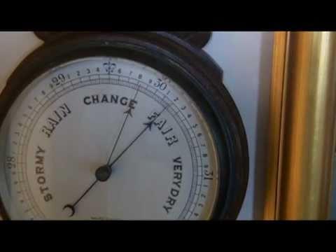 Aneroid Barometer Repair Youtube