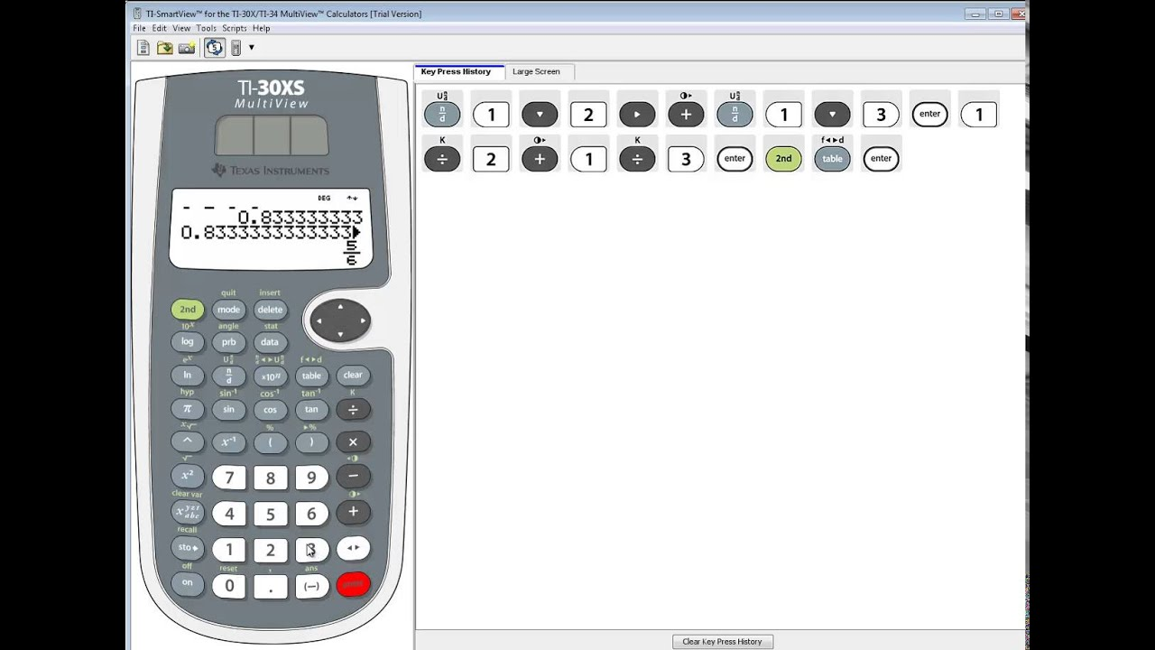 Fractions Pro - fraction calculator with parentheses and exponents ...