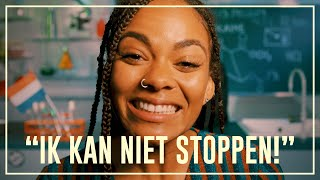 Dzifa can't sit still after she uses Cocaine | Drugslab