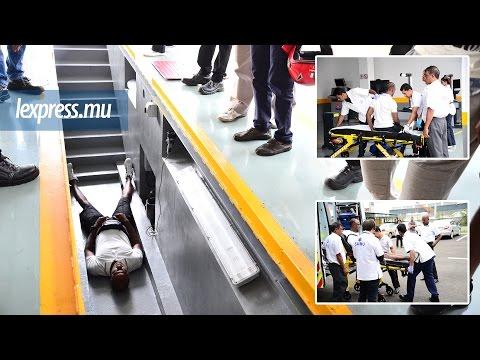 Au centre de fitness de Plaine-Lauzun: un conducteur blessé lors d'une chute