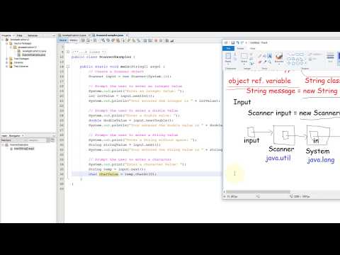 Java Tutorial - 13  Input using the Scanner class