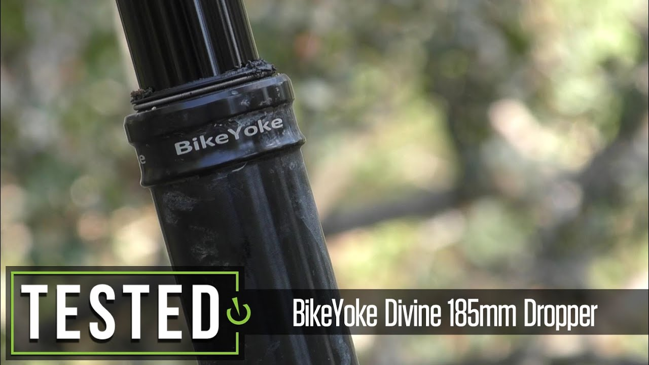 Tested Bikeyoke Divine 185mm Dropper Post Youtube