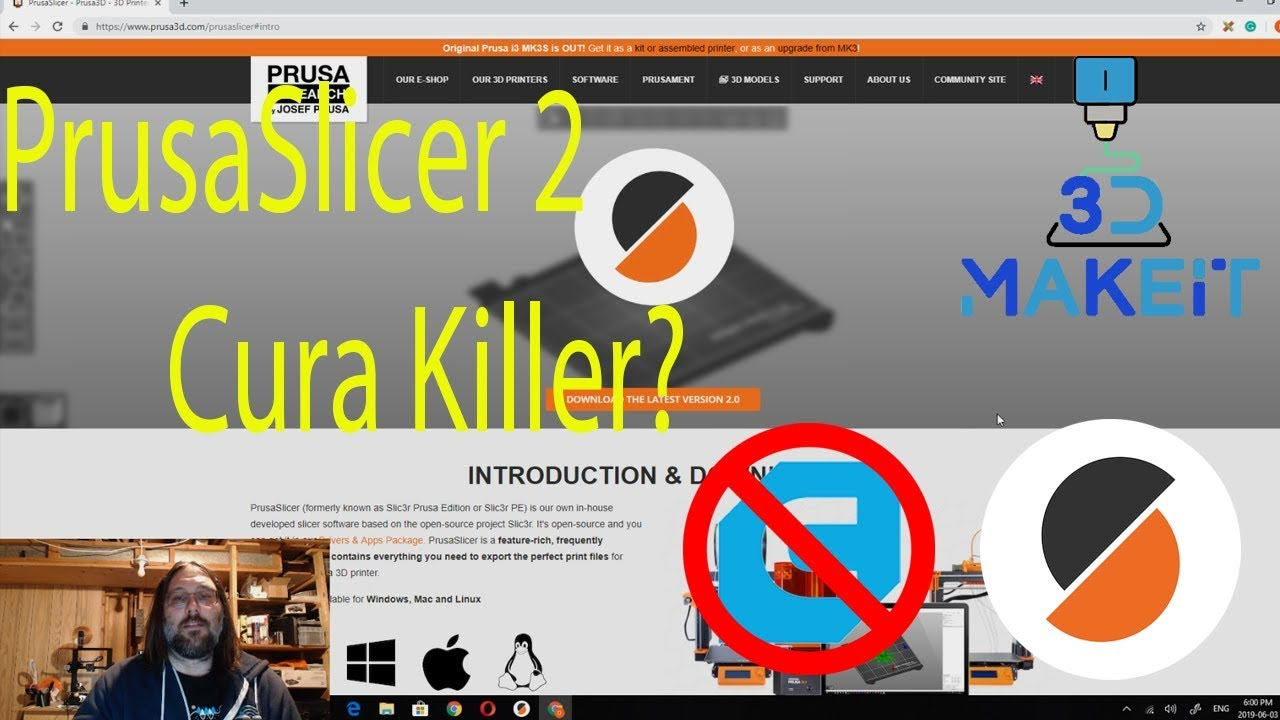 PrusaSlicer 2 is here and its a cura (creawesome), s3d killer!