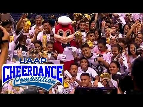 UAAP 79 Cheerdance Competition 2016 Awarding Ceremony