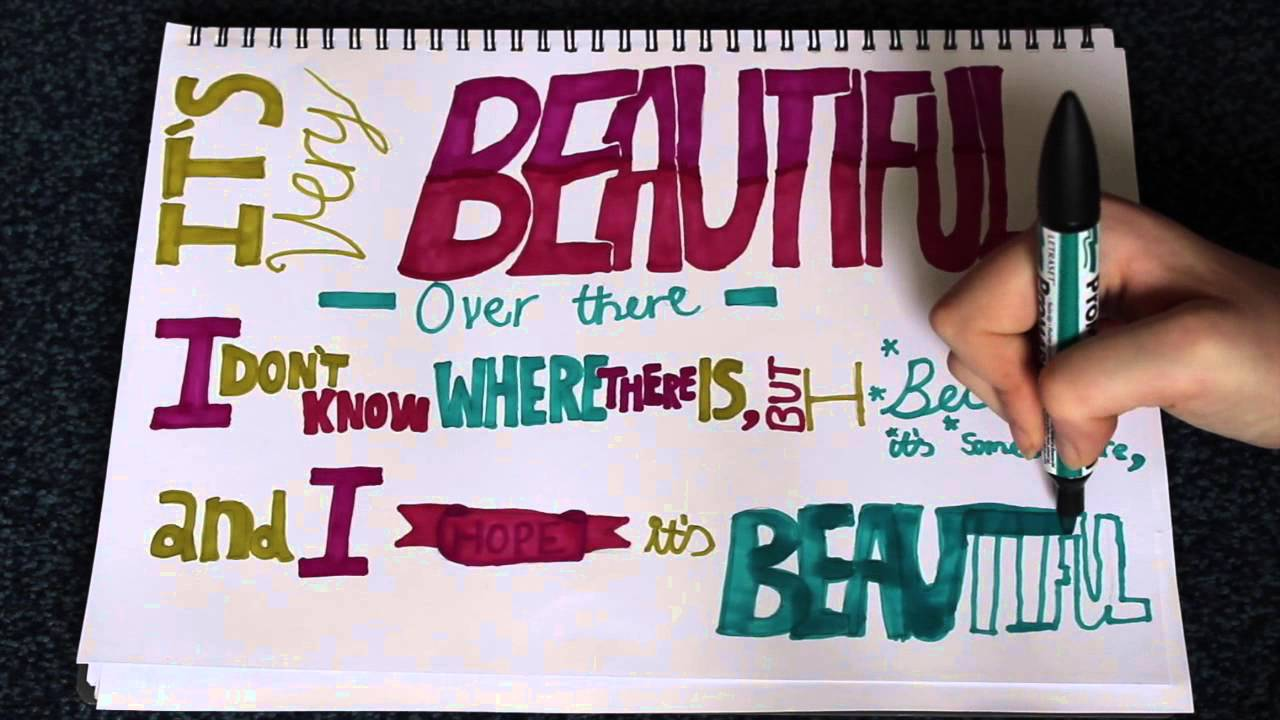 John Green Quotes Drawing Fran Draws Youtube