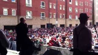 Skinhead Moonstomp by The Specials with dancing! Mathew Street Festival, Liverpool