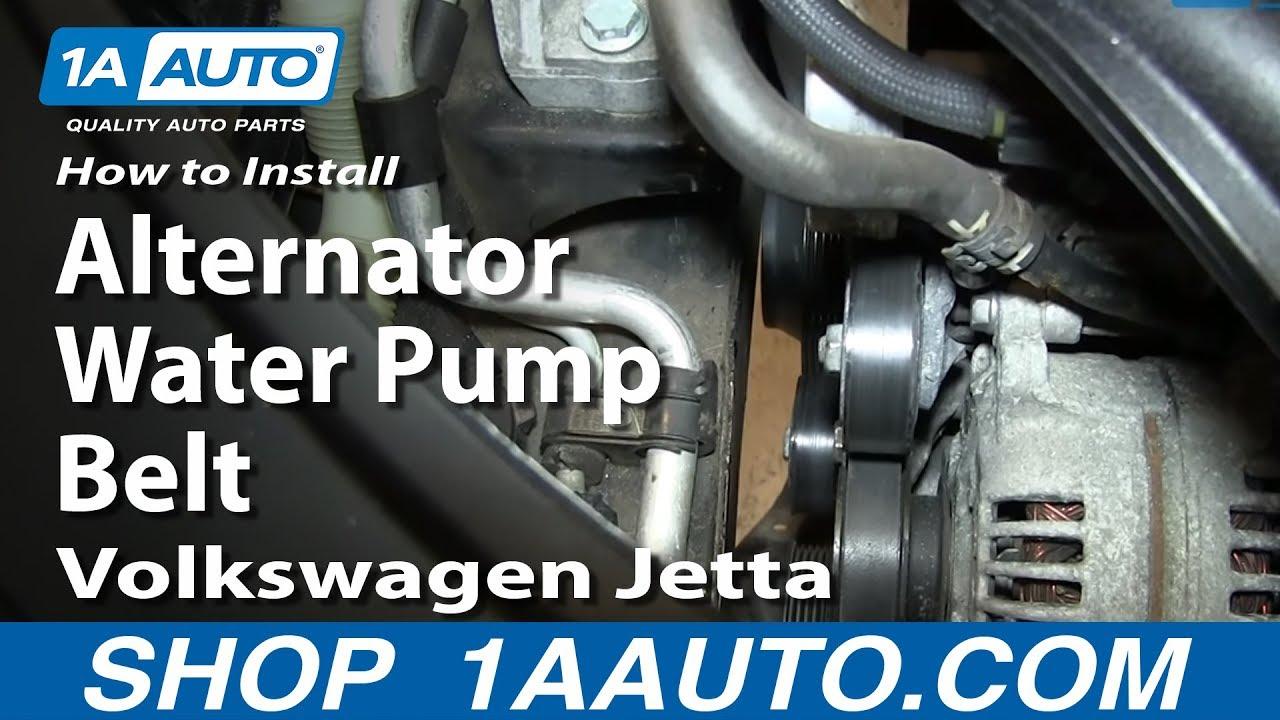 2013 Nissan Altima Engine Diagram How To Replace Alternator Water Pump Belt 05 10 2 5l