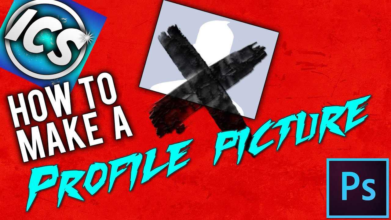 How To Make A Really Cool Profile Picture | Tutorial #1