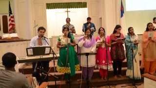 Telugu Christian song || Nadipinchu Naa Naava || నడిపించు నా నావ || utccnj choir
