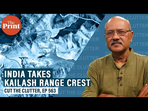 Spanggur Gap, Chushul Bowl, Black Top, Mukhpari, Rechin La, when India takes the Kailash Range crest