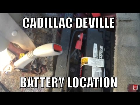 Cadillac Deville Battery Location