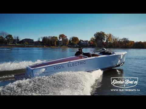 The Fastest Electric Boat | America's Only Electric Water Sport | Bruce 22 | CEBC