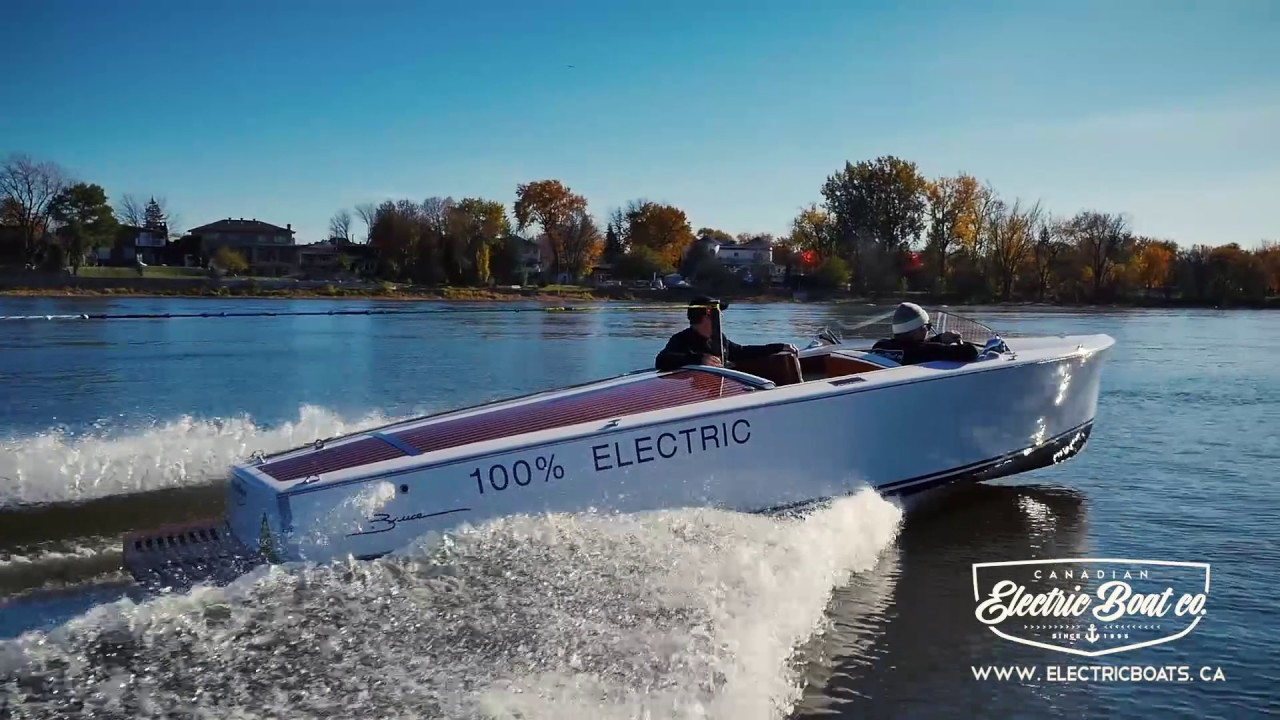 The Fastest Electric Boat America S Only Water Sport Bruce 22 Cebc
