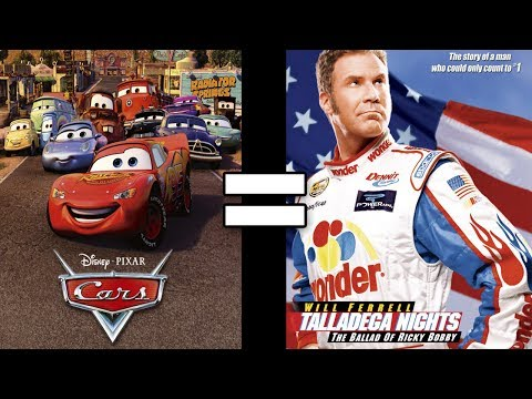 24 Reasons Cars & Talladega Nights: The Ballad of Ricky Bobby Are The Same Movie