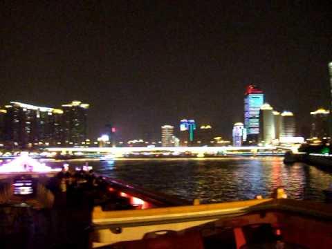 Pearl River Cruise in Guangzhou, Guangdong, China