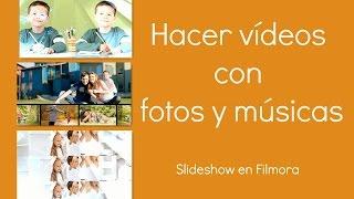 Cómo hacer vídeos con fotos y músicas en Filmora
