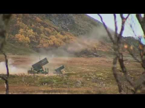 AMRAAM surface-to-air missile first firing for the dutch Army source Dutch Ministry of defense