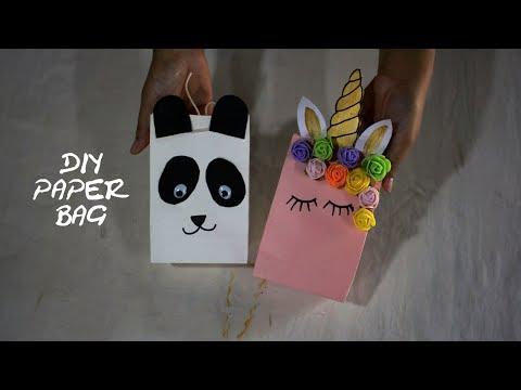 easy paper bag diy