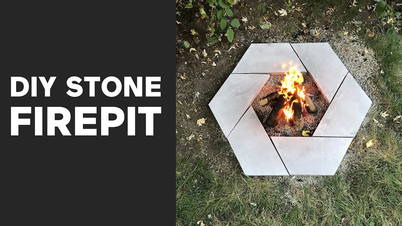 DIY Modern Stone Firepit | A Dwell Made Project - DIY Modern Stone Firepit A Dwell Made Project - YouTube