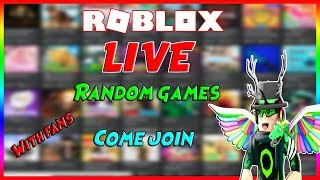 🎮🔴 Roblox Playing games with fans! Come join! 🔴🎮