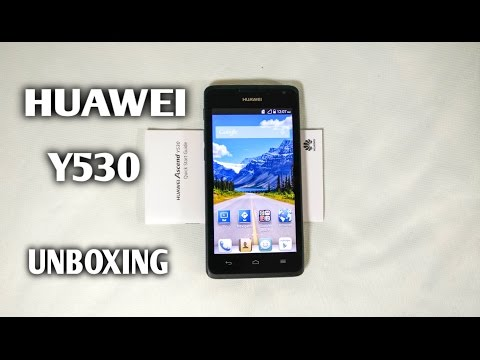 HUAWEI ASCEND Y530 UNBOXING
