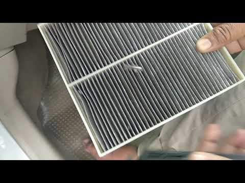 how to clean ac filter  cabin filter in  maruti suzuki a star