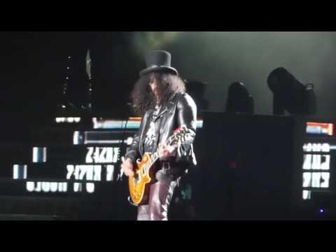 Guns N' Roses  Welcome to the Jungle,Double Talkin' Jive   en Lima Peru 2016