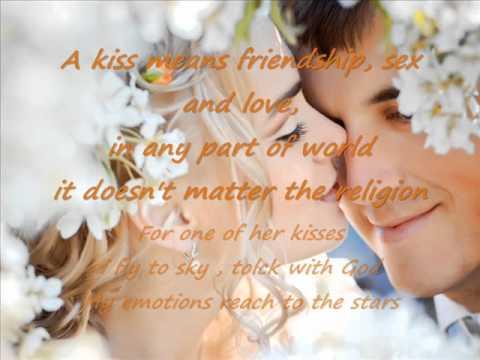 Solo por un beso english lyrics .wmv