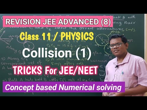 Revision JEE ADVANCED (8)/ Collision (1). Class 11, PHYSICS. Concept+ Multiple Correct Answer Type