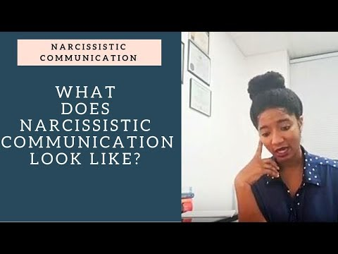 What Does Narcissistic Communication Look Like? - Psychotherapy Crash Course