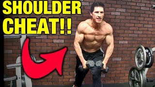 Shoulder Workout Cheat!!  Fix This For Bigger Delts Now!