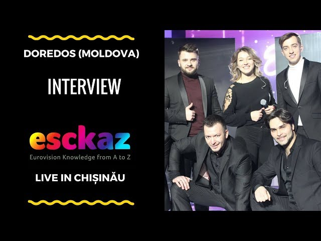 ESCKAZ in Chișinău: DoReDos - My Lucky Day (interview)