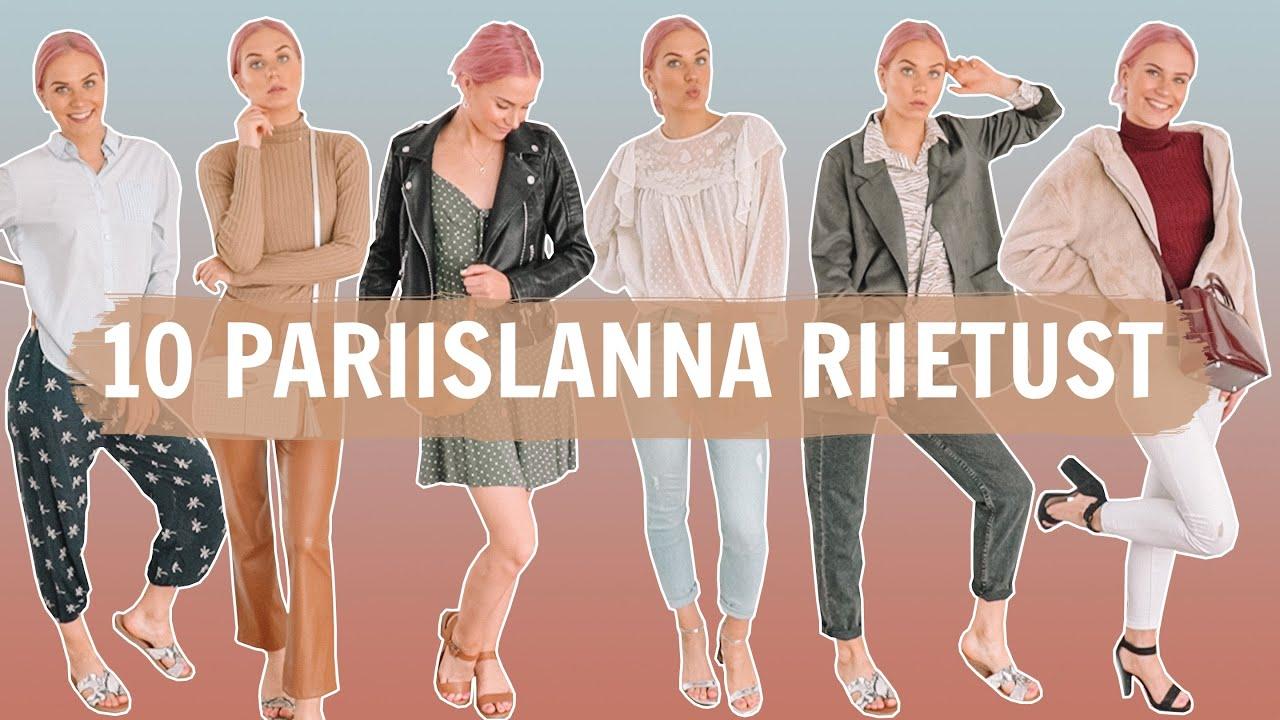 10 PARIISLANNA RIIETUST // Parisian Chic Style Guide