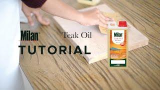 Milan Teak Oil