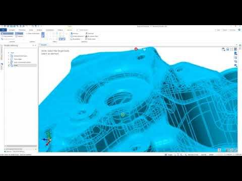 Edgecam Designer – Naprawa modelu powierzchniowego