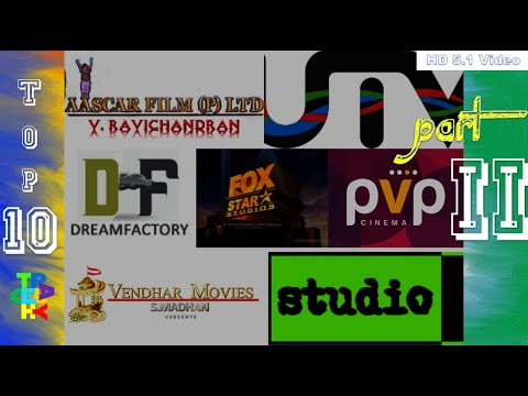 Top-10 Part 'II' I Tamil Movie Production Company Intro's I Tech Play I