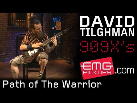 "David Tilghman Plays ""Path Of The Warrior"" Live On EMGtv"