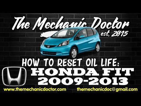 2012 Honda Fit Oil Life Light Reset How To Doovi
