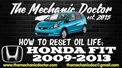 Honda Jazz Service Message Reset Procedure