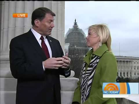 Interviewing Senator Mike Rounds in D.C.