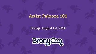 Artist Palooza 101