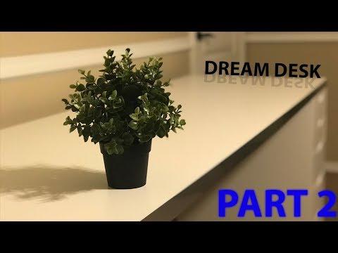 IKEA Dream Desk Part 2!! whats on my desk?!?