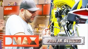 Paul Jr. baut ein Roco-Bike | American Chopper | DMAX Deutschland
