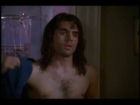 Ben Bass shirtless coming out of the shower (Vampire Vachon & Tracy's 1st Kiss)