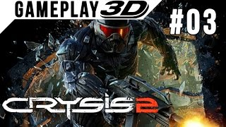 Crysis 2 #003 3D Gameplay Walkthrough SBS Side by Side (3DTV Games)
