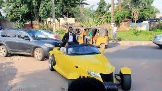 Beautiful Ayo Adesanya and her Son Rides SuperCar SHUT DOWN Lagos
